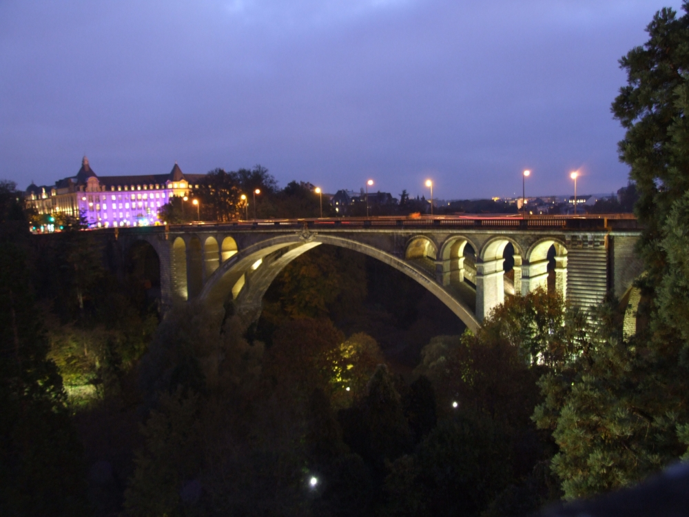 Image Pont Adolphe Luxembourg