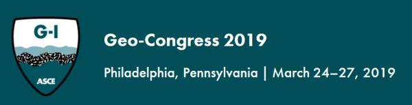 Image GEO-CONGRESS 2019 – 8th International Conference on Case Histories in Geotechnical Engineering